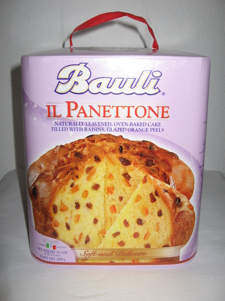 Bauli Panettone Mit Rosinen Und Kandierten Orangenschalen 1 Kg